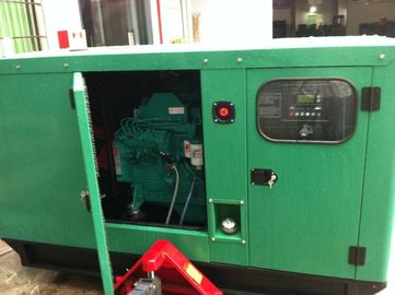 100kw Cummins Silent Diesel Generator , 125kva Generator With Electronic Governor